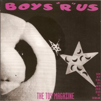 Boys r Us Toy magazine 1992 cover picture