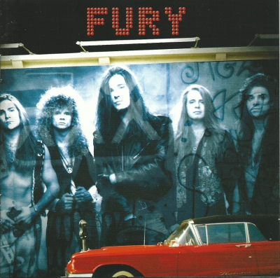 Fury - st cd