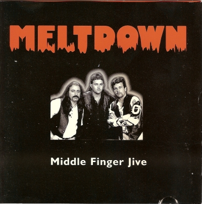 Meltdown Middle finger jive 1998 cover picture