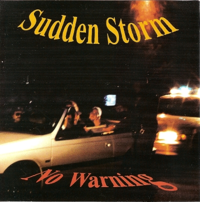 Sudden Storm No warning 1994 cover picture